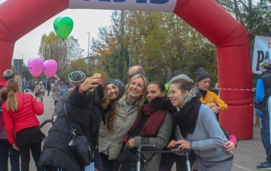 39^ corsa lungo il fiume zero selfie