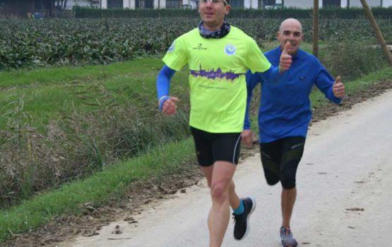 39^ corsa lungo il fiume zero nella campagna